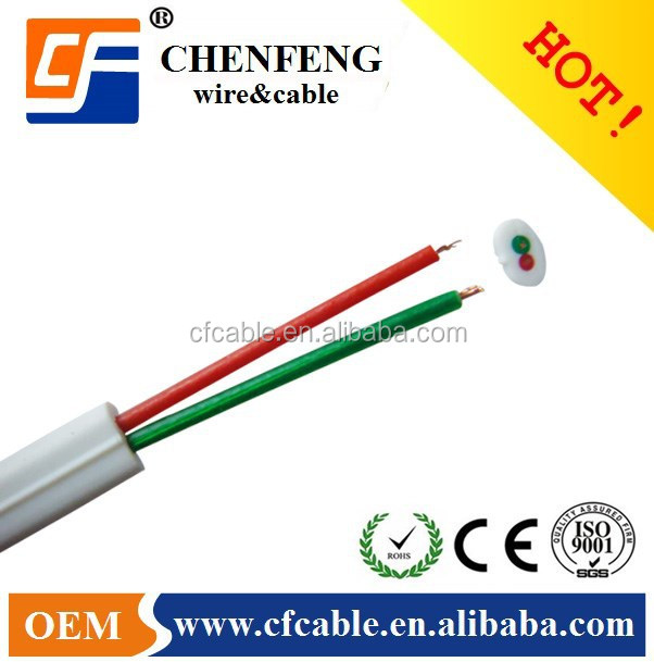 2 cores flat telephone wire cable, factory price,telephone wire