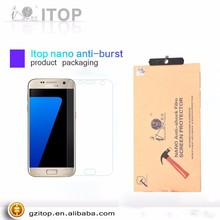 Hot Sale OEM Screen Protector Mobile Phone Protective Film Nano Glass For Samsung s8