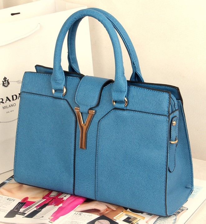 classic fashion designer pu leather handbags for lady