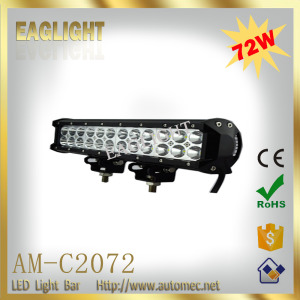 Best selling products 12 inch 72W high intensity Combo beam led light bar