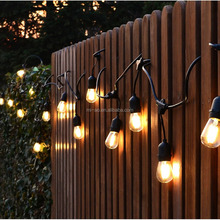2017 New year S14 Led bulb 48FT Vintage UL Approved led garland waterproof decoration lighting string lights