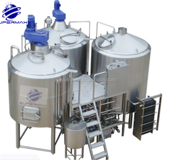 High quality Hotel Beer equipment with beer fermenter beer bright tank unitank