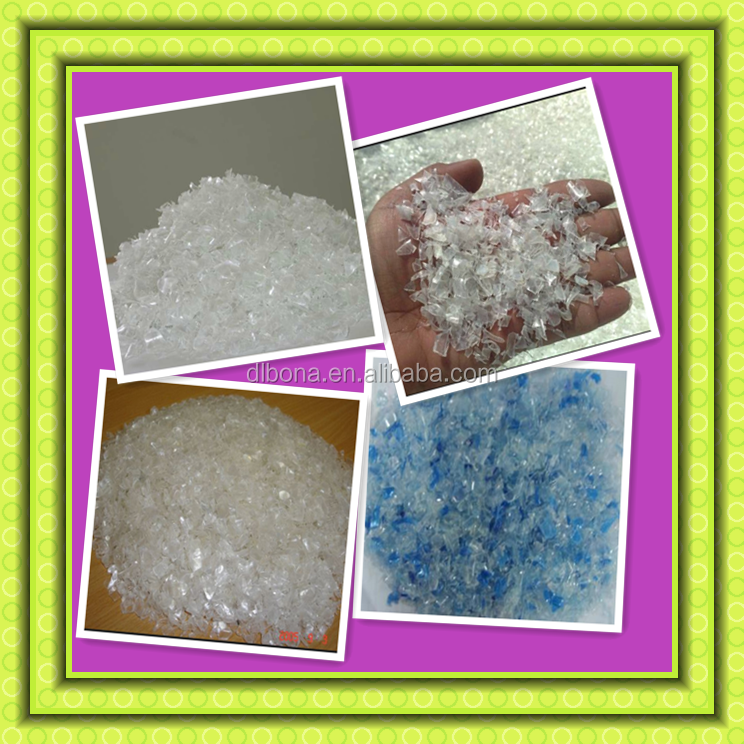 Hot washed Pet Bottle Flakes PET recycle flake