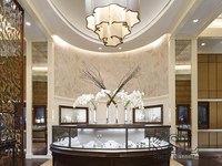 high end jewelry store interior design for shop decoration