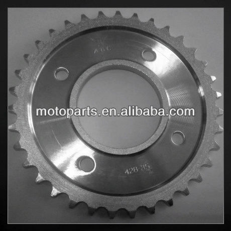 High Quality scooter parts of sprocket wheel New 2013