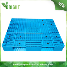steel reinforced plastic pallet made in china double face hdpe pallet