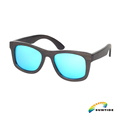ZA06 Wholesale various colors quick delivery no MOQ custom logo bamboo made sunglasses