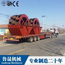 River Sand Wheel Sand Washing Plant