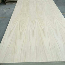 Natural Red Oak Wood Veneer Faced Plywood