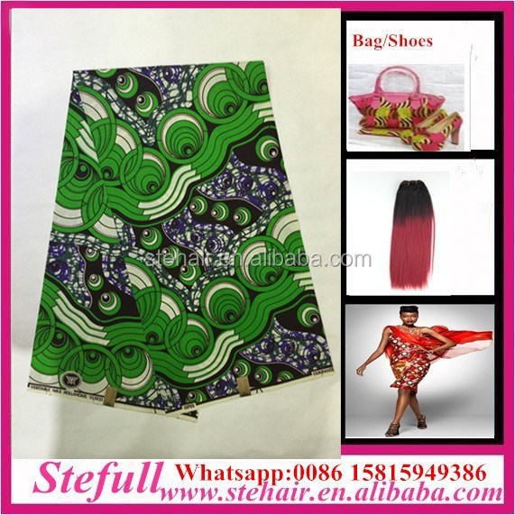 Stefull original african lace new design 100 cotton african clothing patterns