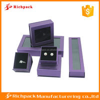 7 year experienced manufacturer clear pvc cardboard jewelry packing for set