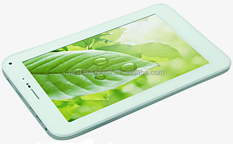 "7"" Capacitive Touch Screen Tablet PC with WIFI, internal 2G, Voice Call, GPS and Bluetooth - 4GB Flash Memory Dual Core 1.2GHz"