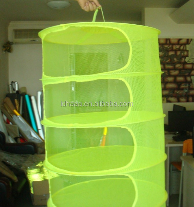 Hydroponics Herb Dry Net/ Plant Drying Rack for grow tent