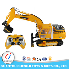 Most popular chinese manufacturers engineering kids toy rc hydraulic excavator for sale