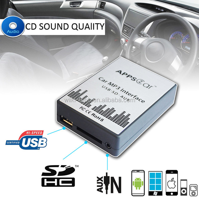 usb adapter for car radio with usb sd aux port,usb car stereo adapter for mazda 2 3 5 6