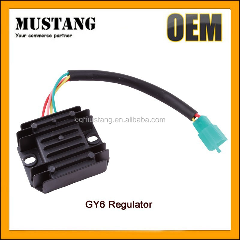Half-Wave Rectifier for Motorcycle GY6, Motorcycle GY6 Rectifier