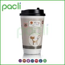 Professional team Use widely 8oz good printing soda cold drinks double wall paper cup