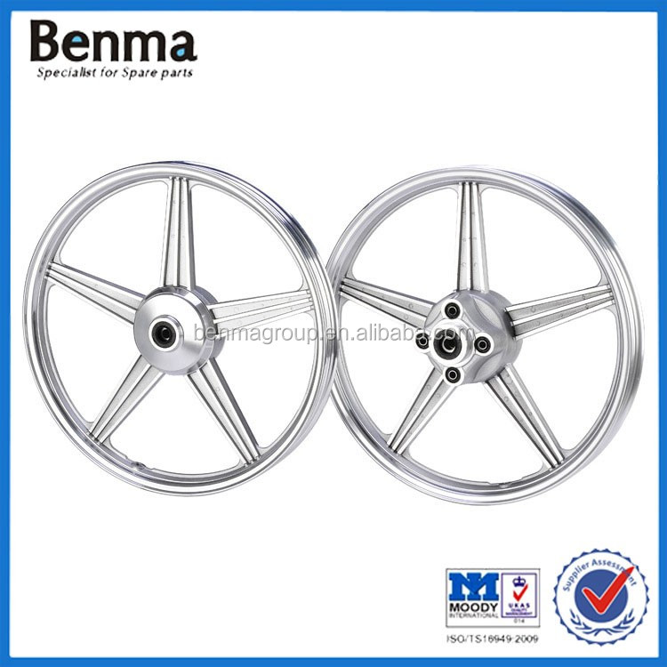 Motorcycle wheels CG125 wheel set fornt wheel 1.4*18 rear wheel 1.6*17/18'' wheel
