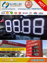 Outdoor fuel/oil/gas/petrol station totem display LED price board pylon signs