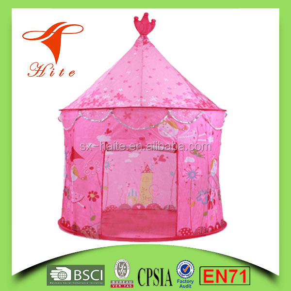 Pink Princess Childrens Indoor Outdoor Pop Up Play Tent Fun Playhouse /Best Children Cubby House Play Tent
