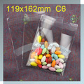 custom size opp self adhesive bag Custom Printing Clear Self Adhesive opp bag