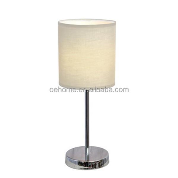 Rotary Socket Chrome Led Desk Lamp With Usb Port Buy Led