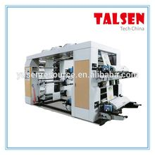 3 colors flexo printing and slotting machine