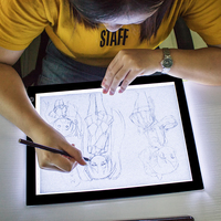 A3 and A4 Ultra Slim LED Drawing Light Box A4 LED drawing Board Tracing Light Pad For School
