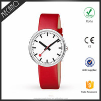 Ladies Fashion Leather Belt Valentine Quartz Time Service International Watches