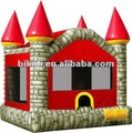 Colorful Bricks jumping castle to Canada B1117