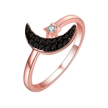 Sterling Silver Jewelry Rose Gold Ring For Women