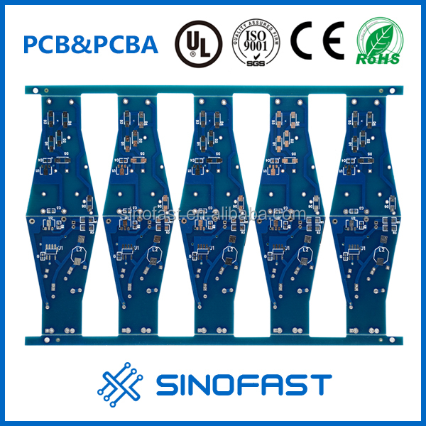94v0 Double-sided mp3/mp4/tv lcd printed circuit board /lcd pcb board/lcd circuit board