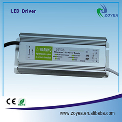 High quality IP67 waterproof 100W dimming led driver