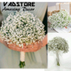 artificial babybreath flower beautiful gypsophila artificial fake silk flowers baby breath plant home wedding decorations