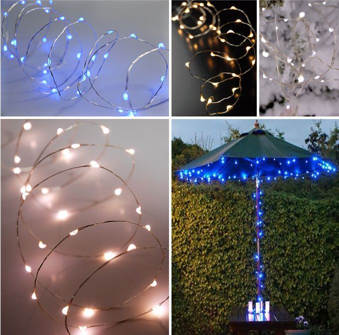 Unique String Lights Outdoor : Indoor&outdoor Unique Submersible Copper Wire Led String Light For Party - Buy Copper Wire Led ...