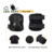 Tactical Elbow and Knee Pads Set, Non-Slip Waterproof Lightweight Protective Pads