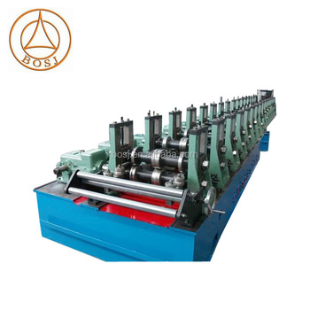 Automatic change size CZU purlins roll forming machine metal purlin roll former purlin roof forming machinery