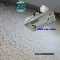 Good quality and well effect 1500w indoor snow machine