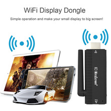 New Arrival 1080P Mirascreen B4 wireless vga miracast DLNA Airplay Miracast B4 carplay dongle with Extra Antenna