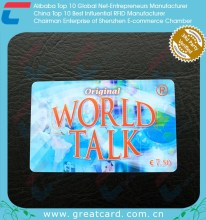 Straight Talk Recharge Scracth Panel Phone Cards