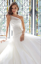 Latest Style High Quality Heavy Beaded Ball Gown Wedding Dress