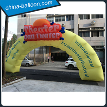 Customized new design inflatable racing arch / inflatable finish line arch for outdoor events
