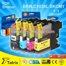 For Brother Ink Cartridge LC103XL,Deskjet Printer Ink Cartridge For Brother LC103XL With 24 Months Gurantee