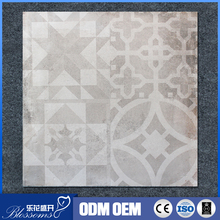 60x60cm pattern rustic first choice glazed polished parquet porcelain tile for hotel