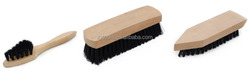 Shoe cleaning brush,Wooden handle brush