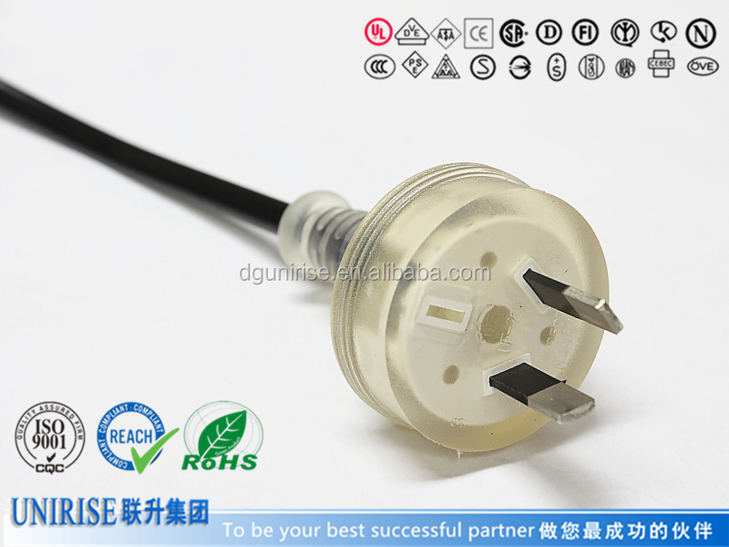 SAA plug power cord for Slow Cooker