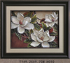TY-H011 Make decorative picture frames 3D white flower framed painting for wall decor