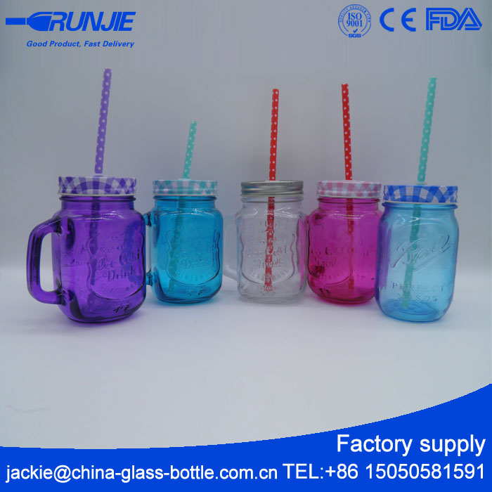 available sample Many Capacities mason jar with stem