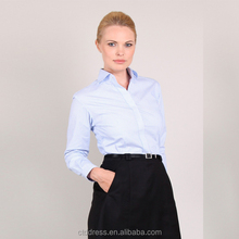 2014 new style womens business blouse
