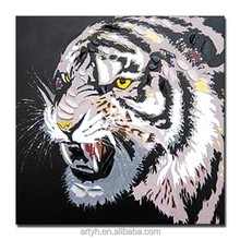 Abstract Tigers Animal Oil Paintings for Sale